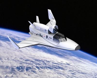 …и на орбите (Изображение — psi.edu)