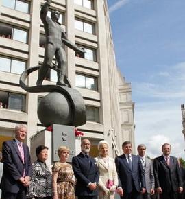 На открытии памятника (Изображение — rian.ru)