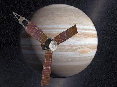 Юпитер раскроет свои секреты (Изображение — NASA)