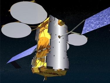 Спутник KA-SAT на орбите (Фото — iks-media.ru)