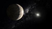 Взгляд художника на карликовую планету Макемаке (space.com)