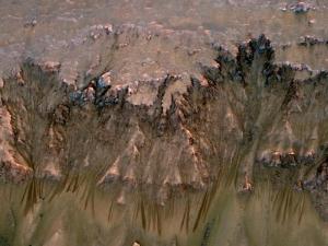 Потоки на Марсе (nasa.gov)