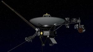 Взгляд художника на зонд Вояджер (space.com)