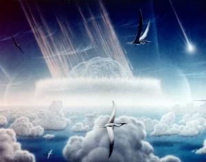 Падение астероида, уничтожившего динозавров (space.com)