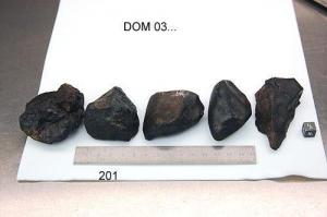 Образцы метеоритов из Антарктики (sciencedaily.com)