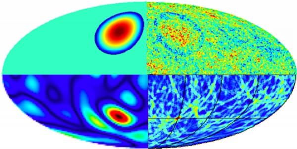 Если после Большого взрыва образовалось множество Вселенных, они бы сталкивались, оставляя в фоновом излучении круговые структуры (space.com)