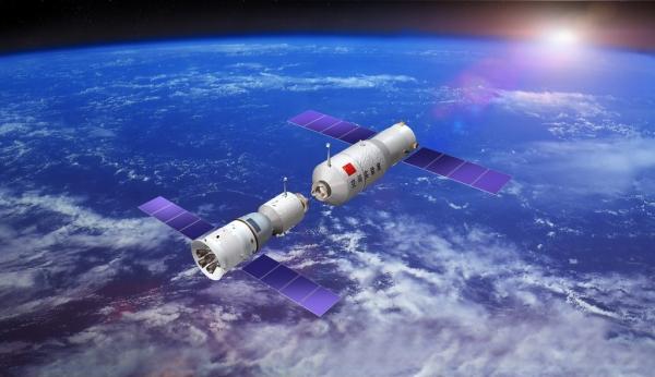 Возможная стыковка китайских аппаратов (space.com)