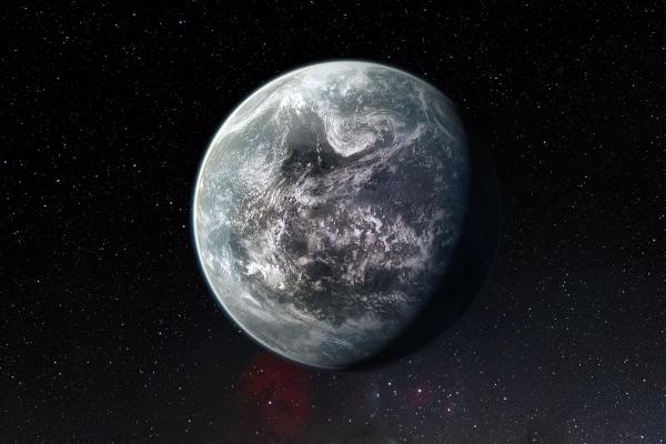 Возможно, так выглядит сверхземля 85512 b (eso.org)