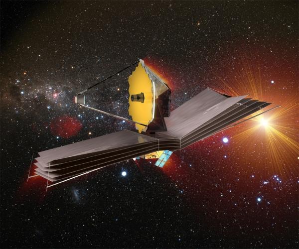 Примерно так должен выглядеть телескоп (space.com)