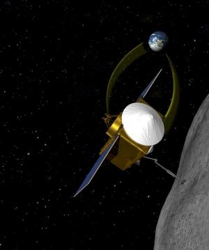 Взгляд художника на зонд Osiris-Rex (space.com)