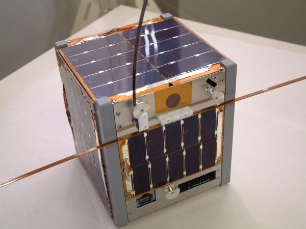 Японский кубсат. Запущен в 2003 году и до сих пор работает (space.t.u-tokyo.ac.jp)