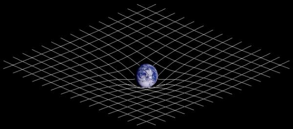 Искривление пространства-времени массой (wikipedia.org)