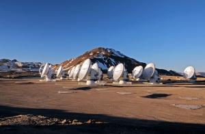 Девятнадцать антенн телескопа, уже вступившие в строй (eso.org)