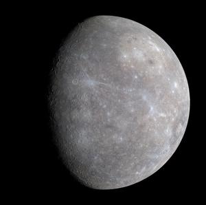 Изображение Меркурия, полученное Мессенджером (wikipedia.org)