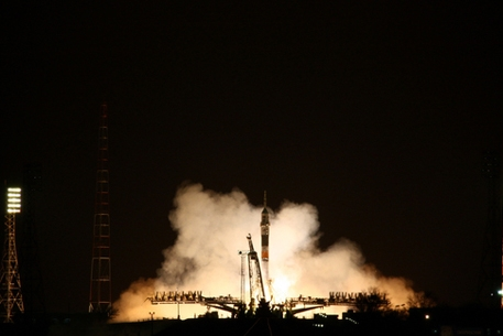 «Союз-ФГ». Старт с Байконура (Фото — roscosmos)