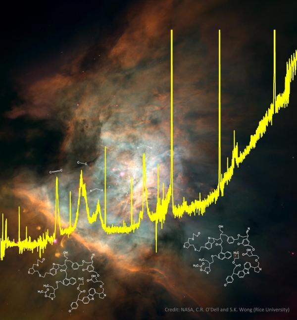Спектр органического соединения (space.com)