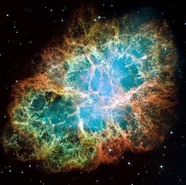 Крабовидная туманность (Фото — spacetelescope.org)