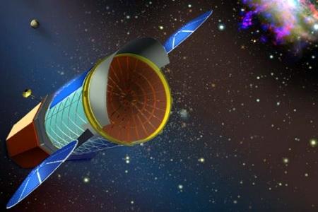Запуск телескопа WFIRST — 2020 (Изображение — thetechherald.com)