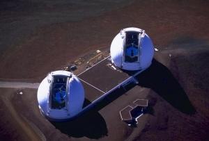 Телескопы-близнецы обсерватории Кека (wikipedia.org)