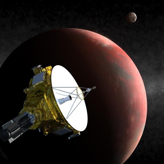Новые горизонты у Плутона (space.com)