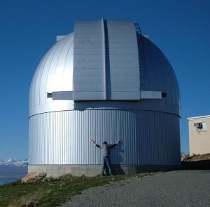 Обсерватория Маунт Джон (wikipedia.org)