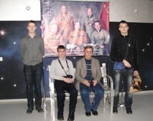Команда из Ульяновска Солярис в Мемориальном музее космонавтики (материалы офциальной группы проекта на Фейсбуке)