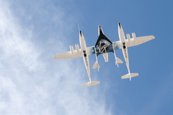 Полет WhiteKnightTwo/SpaceShipTwo (space.com)