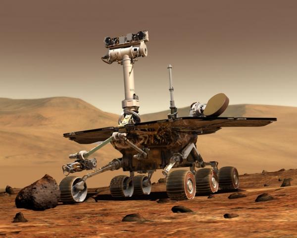 Марсоходы Spirit и Opportunity (space.com)