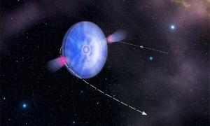 Пульсар, проходящий через солнечный ветер, приводит к гамма-излучению (space.com)