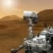 Марсоход Curiosity примарсился и послал первый снимок планеты.