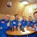 Экипаж марсианской экспедиции провел год в полете и высадился на поверхность красной планеты.