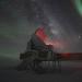 Один из крупнейших в мире телескопов установлен на полярной станции.