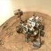 Марсоход Curiosity празднует год на красной планете.