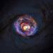 Черные дыры в галактиках могут спать, а могут поглощать материю.