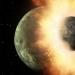 Удар, родивший Луну, оставил расплавленную планету.