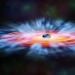 Пять космических телескопов позволили составить картину происходящего около активной черной дыры.